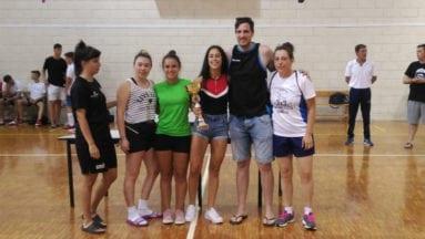 Equipo local femenino vencedor categoría juvenil-senior