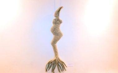 Desde ayer se puede visitar en la Casa del Artesano la exposición 'Ododua' de Noemí Yepes