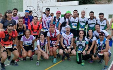 Hinneni Trail Running participó en la IV Amanece Trail de Ayna