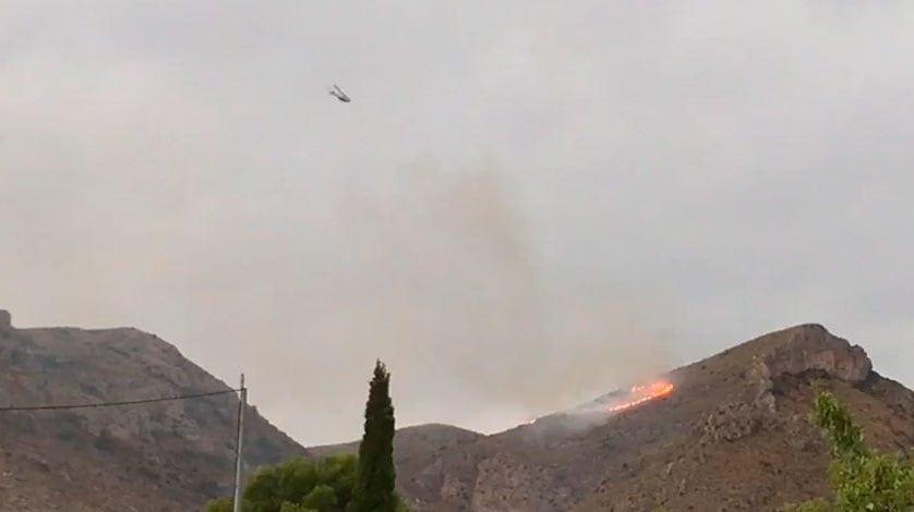 Declarado incendio forestal en la Sierra del Molar de Jumilla