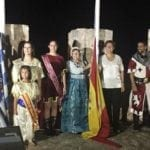 Las banderas ya ondean en el Castillo de Jumilla