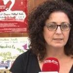 Lola Tomás presentó la Revista de la Peña la Alborga