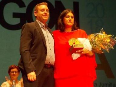 maria-mar-miñano-premio-cofin-oro-fiesta-vendimia-jumilla