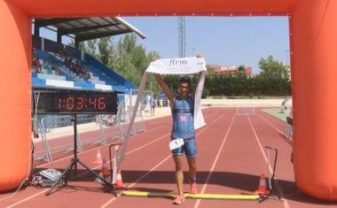 Pedro Antonio López y Laura Durán fueron los vencedores en el XXVI Triatlón Ciudad de Jumilla