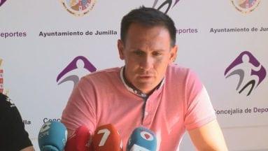 Pedro Asensio Director Deportivo del Fútbol Club Jumilla