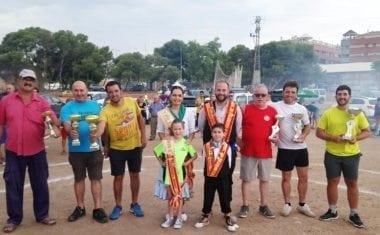 Alfonso González del Salicornio y Melchor Martínez han ganado el Concurso de Gachamiga que organiza la Federación de Peñas de la Fiesta de la Vendimia