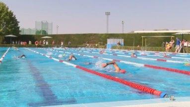 Se recuperó el sector de natación en la piscina olímpica