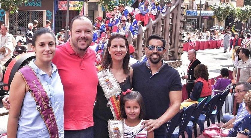 Los Moros y Cristianos de Jumilla acuden a Villena y a Murcia