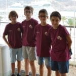 Los ajedrecistas jumillanos quedaron en cuarta posición en el Campeonato Regional de Ajedrez por equipos SUB-12 y SUB-18