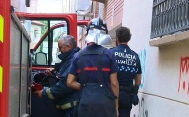 Falsa alarma por escape de gas en Portillo de la Glorieta