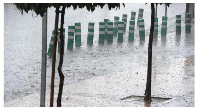 La AEMET emite un aviso amarillo por lluvias y tormentas para este sábado en la región