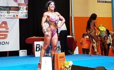 La jumillana Julia Bohigues se proclama Campeona Regional en bodyfitness