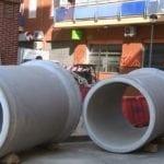 Comienzan las obras de renovación del colector de la calle Juan Ramón Jiménez