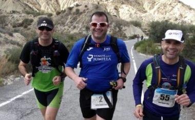 Pascual González no pudo con los 100 Kilómetros Madrid – Segovia mientras que Juan Manuel Pérez sigue completando actuaciones en al Running Challenge de la Famu