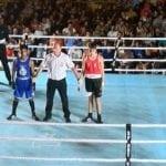 Ocho combates se disputaron el sábado en la Velada de Boxeo 2018