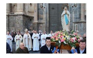 La imagen de la Virgen de Lourdes vendrá a Jumilla por el 50 aniversario de la Peregrinación Diocesana de la Hospitalidad