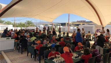 23 ajedrecistas participaron en la categoría menor