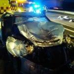 Dos fallecidos y cuatro heridos en un accidente que ha tenido lugar esta madrugada en la A33