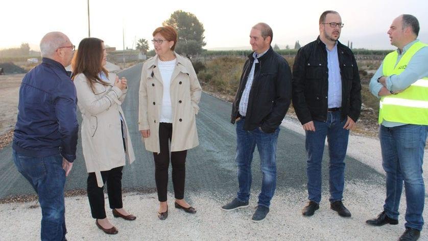 El Camino de Román tiene firme de asfalto por primera vez