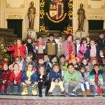 Los alumnos de Infantil de Nuestra Señora de la Asunción han visitado el Ayuntamiento