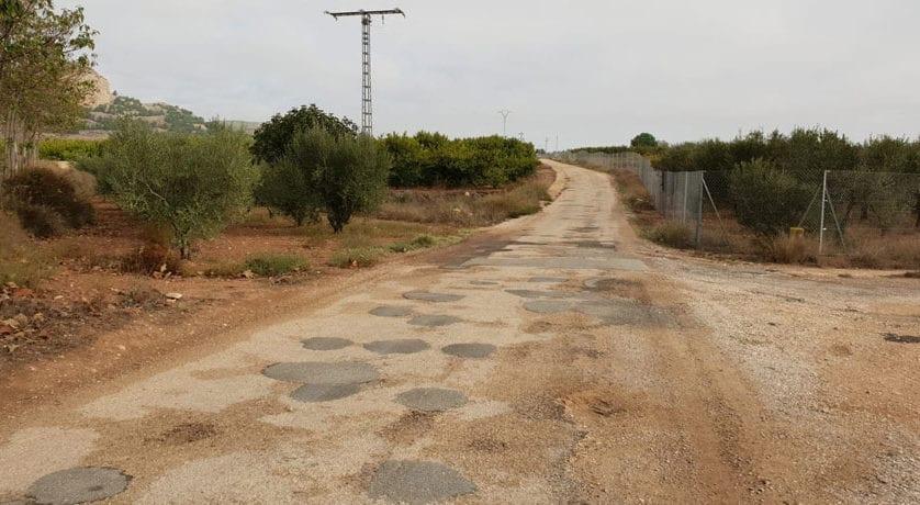 La Concejalía de Agricultura solicita ayudas para el arreglo de otros cuatro caminos rurales