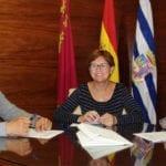 El Ayuntamiento firma los convenios de colaboración con AMFIJU y ASPAJUNIDE