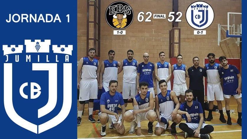 El Club de Baloncesto Jumilla debutó con derrota en Primera Autonómica