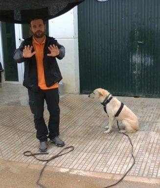 educador profesional Raúl Hernández cuatro patas jumilla