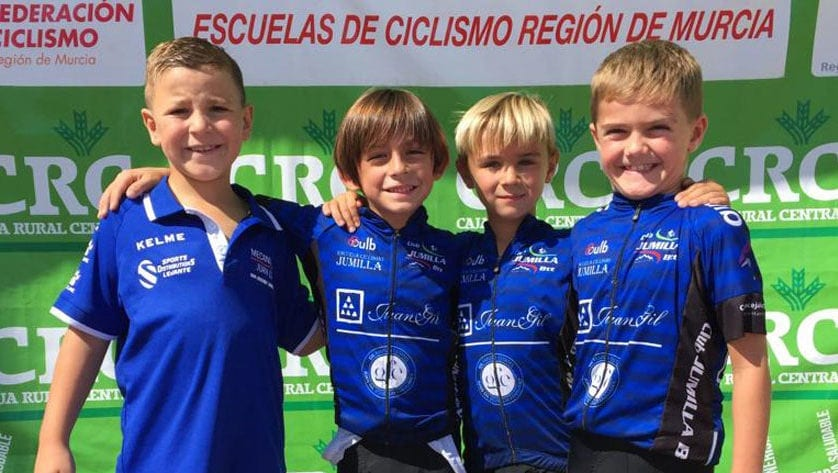 Doble  cita para la Escuela de Ciclismo de Jumilla