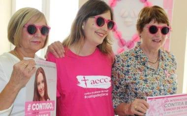 Salubridad y la AECC programan cinco actividades por el Día contra el Cáncer de Mama