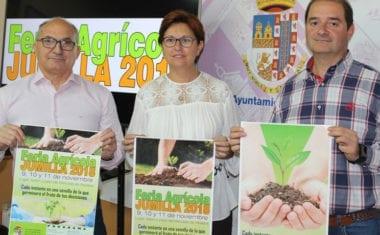 La Feria Agrícola de Jumilla se celebrará del 9 al 11 de noviembre