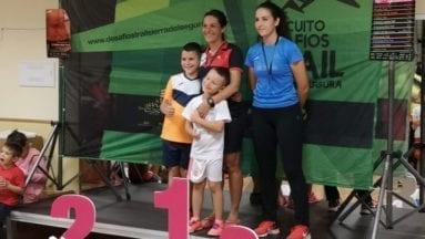 Victoria García fue la primera de su categoría senior
