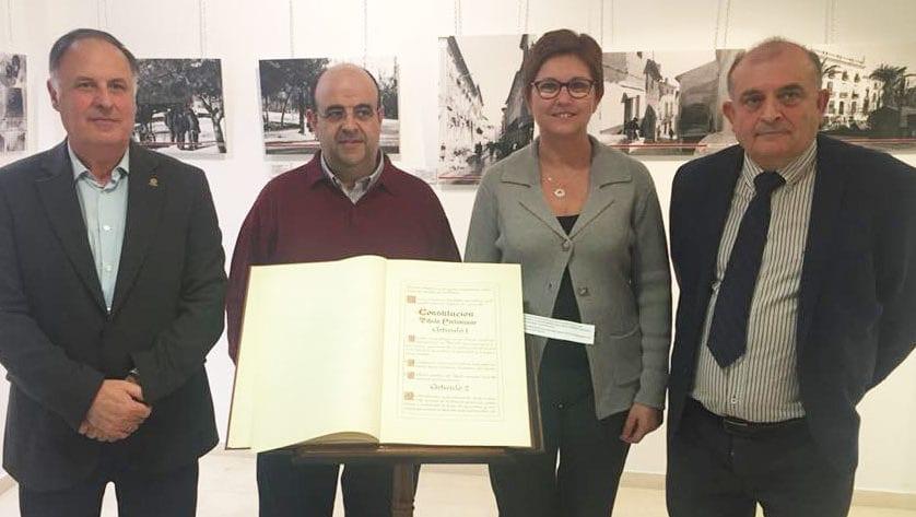 Inaugurada la exposición conmemorativa del 40 aniversario de la Constitución Española