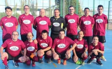 La sección de fútbol sala de Aspajunide defiende subcampeonato