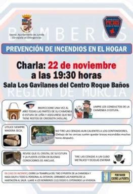 cartel-charla-prevencion-incendios-jumilla