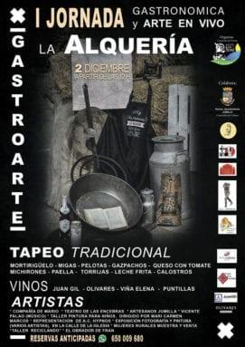 cartel-gastronomia-alqueria-jumilla