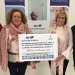 Aguas de Jumilla dona 2.000 euros a la AECC de Jumilla