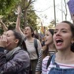 """Los alumnos de 3º y 4º de la ESO se sumaron a la huelga de estudiantes para acabar con el """"machismo"""" en las aulas"""
