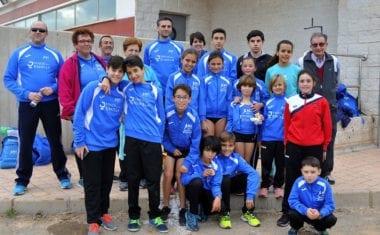 Una victoria y cuatro puestos de podio para el Athletic Club Vinos DOP Jumilla en la Liga Regional de Cross