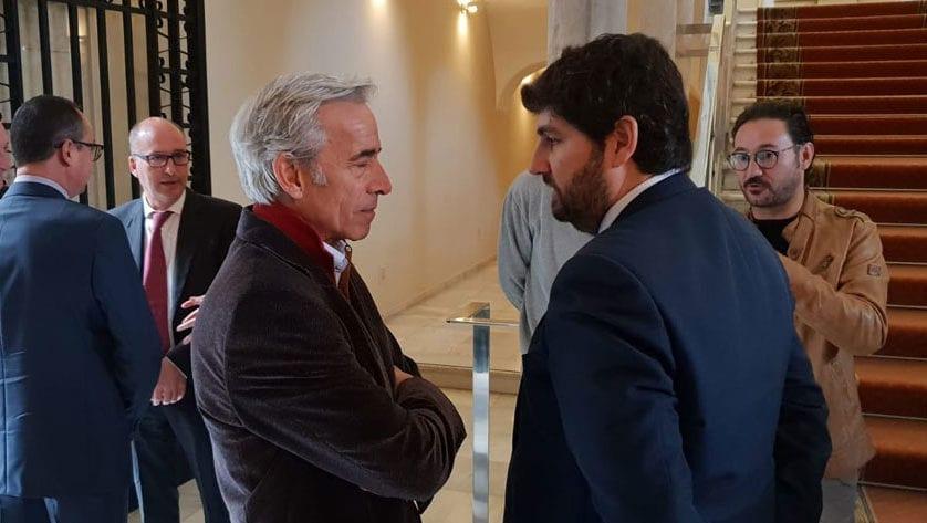 López Miras reafirma el apoyo del Gobierno regional a la promoción de la cultura a través de incentivos fiscales
