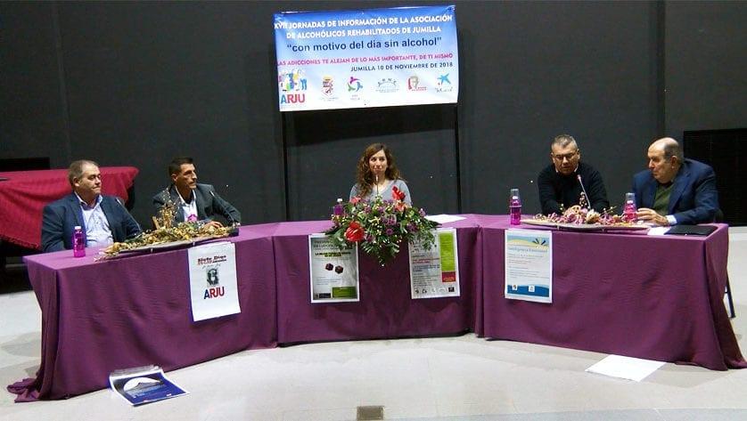 """ARJU celebró las XVII Jornadas Sobre Alcoholismo tituladas """"Las adicciones te alejan de lo más importante, de ti"""""""