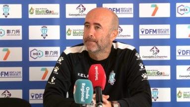 Leonel Pontes entrenador del Fútbol Club Jumilla