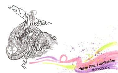 El 1 de diciembre tendrá lugar la XIV Muestra Infantil de Folklore