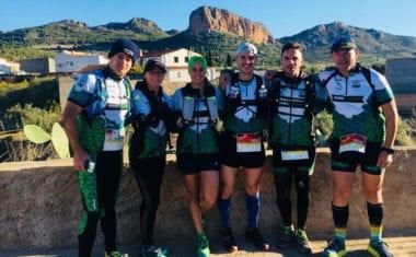 Dos puestos de podio individual y otro por equipos para Hinneni Trail Running en la V Peñarrubia Trail