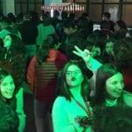 Los jóvenes respondieron masivamente a la llamada de Juventud con la Party 0,0