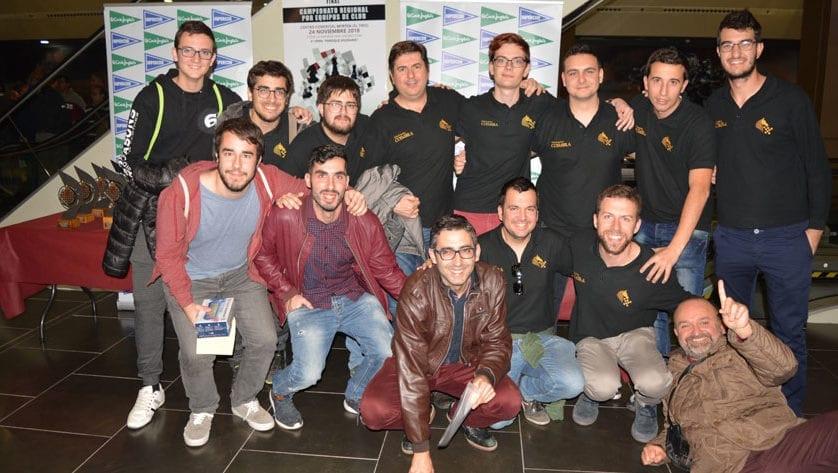 Gran final de campeonato para los equipos de ajedrez del Club Coimbra