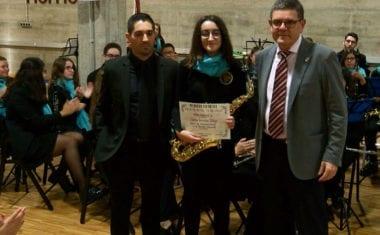 La Banda Juvenil de la AJAM presentó a sus nuevos músicos en el Concierto Solidario a beneficio de Cáritas