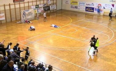 Al Club Jumilla FS se le escapó el partido a falta de dos segundos