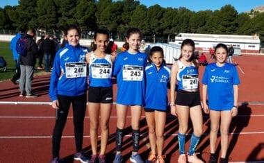 Dos puestos de podio para el Athletic Club Vinos DOP Jumilla en el Cross Nacional de Yecla