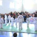 Examen de grado para los alumnos de Taekwondo del Centro Deportivo Olivares
